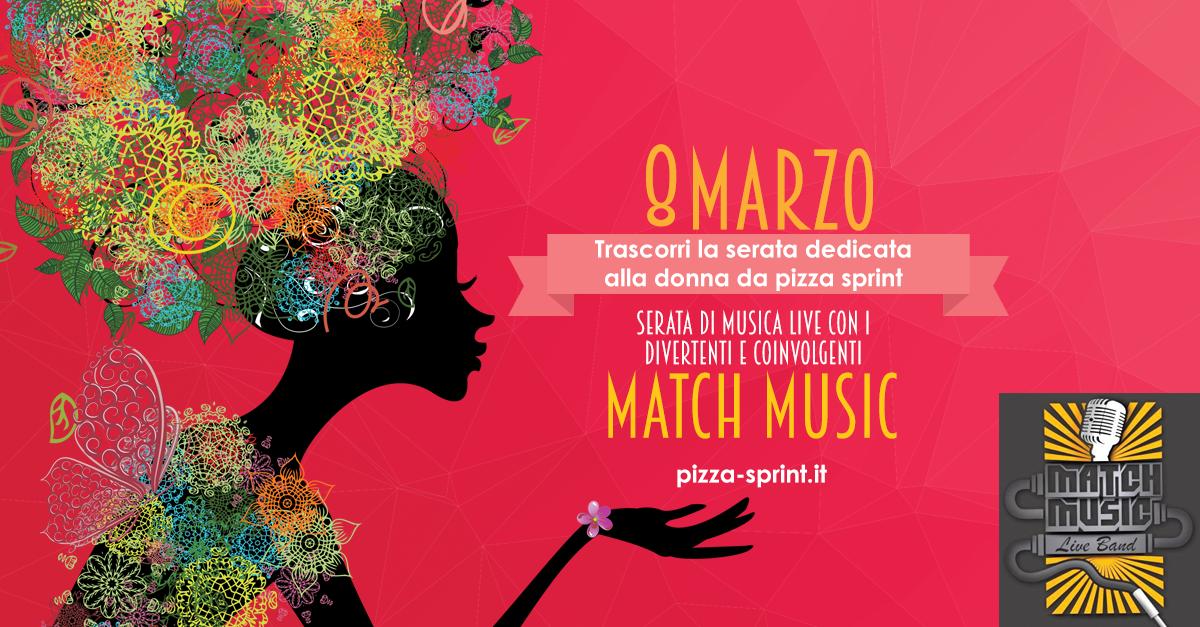 8 Marzo Festa Della Donna Pizza Sprint Una Pizza Dautore E